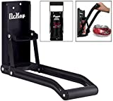 McKay 16 oz Auto Dispensing Can Crusher / Smasher, Crushes Soda Cans, Beer Cans and Bottles - (Black)