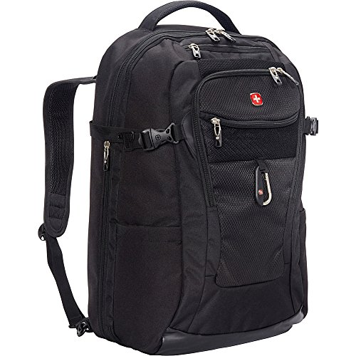 SwissGear TSA Approved 15' Laptop Backpack Travel Gear 1900 - (Black)
