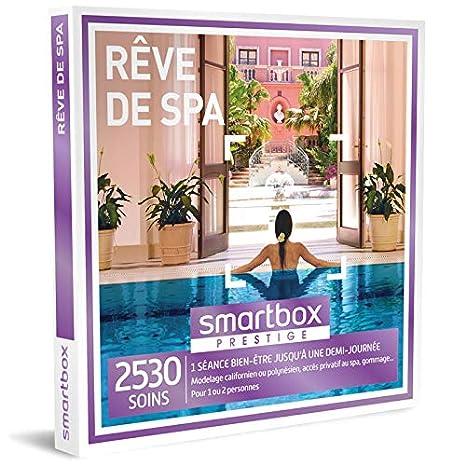 Idee Cadeau 1 An De Couple.Smartbox Coffret Cadeau Femme Homme Couple Reve De Spa