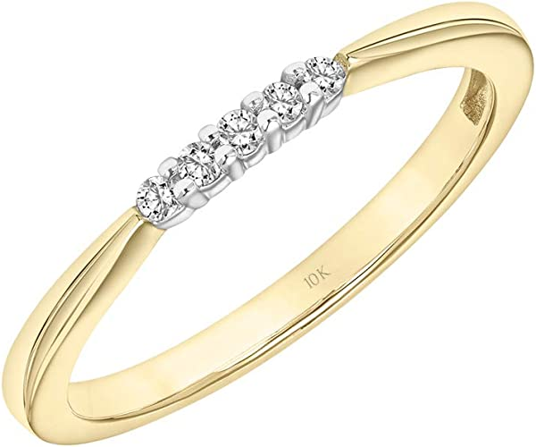 IJ  SI HallMarked 14K Yellow Gold 7.75 inches bangle-bracelets Size 2 cttw Round-Cut-Diamond