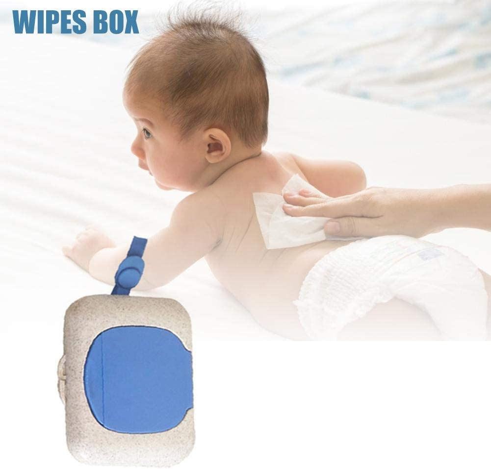 Easy Open /& Close Wipe Container Baby Wipe Dispenser Non-Slip Baby Wipe Holder Keeps Diaper Wipes Fresh Baby Wipes Case