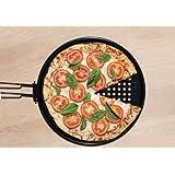 Charcoal Companion Non-Stick 12.75-inch Pizza Grilling Pan