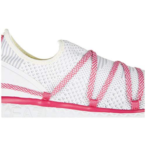 Ea7 Kvinder Lys 7 Sko 0 Ånd Emporio Bl Sneakers Armani qgwnq1xOr