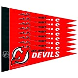 Rico NHL Devils 8 Pc Mini Pennant Pack Sports Fan Home Decor, Multicolor, One Size