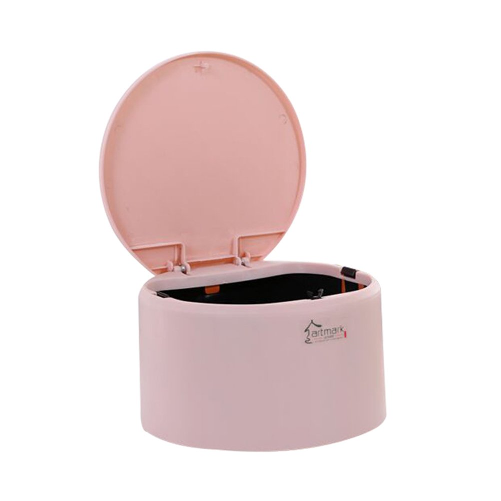 Etach Fashion creative rosa plastica cestino rifiuti da tavolo da ufficio mini pattumiera Trash can Green