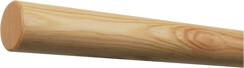 Handlauf ohne Halter in verschiedenen L/ängen 070cm Kiefer /Ø42mm