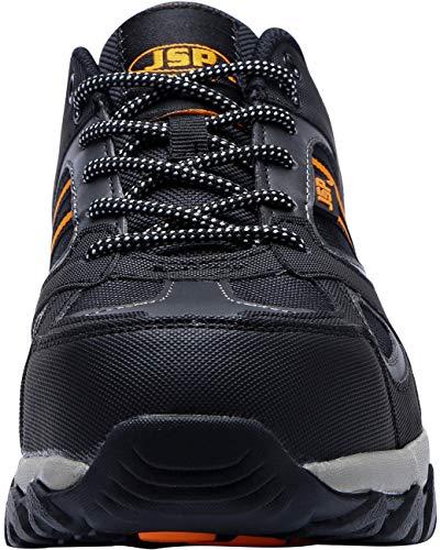 105 De Trabajo Zapatos Acero Con Zapatillas Gris Deportiva Y Seguridad Puntera Industrial Para Negro Lm Hombre Oqqwd4gX
