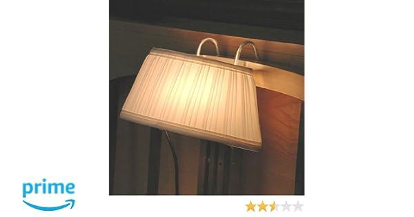 Juego de 2 lámparas para mesilla de noche con ganchos