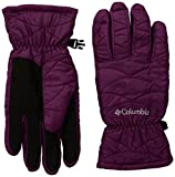 Columbia Women's Mighty Lite Gloves, Dark Raspberry, Medium