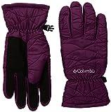 Columbia Women's Mighty Lite Gloves, Dark Raspberry, Medium