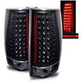 SPPC Black LED Tail Lights G4 For Chevy Tahoe / Suburban / Yukon - Passenger and Driver Side