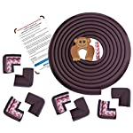 AMAZARA Baby Proofing Edge & Corner Guards | Extra Long 16.4Ft Edge + 8 Pre-Taped Corner Protectors | Child Safety…