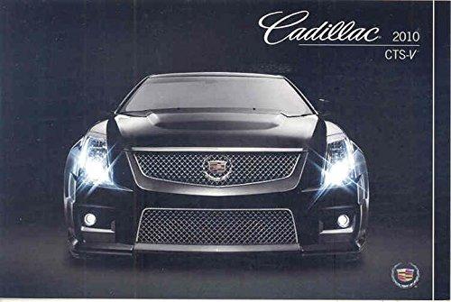 2010 Cadillac CTS-V ORIGINAL Factory Postcard