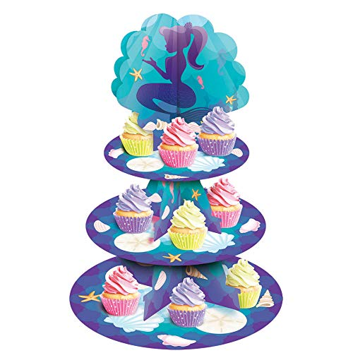 Forum Novelties Mermaid Cupcake Stand (1)