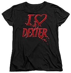 Womens: Dexter - I Heart Dexter Ladies T-shirt Size S