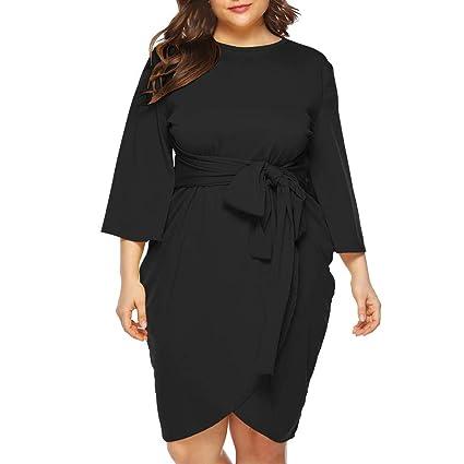 Amazon.com : UEANRFA Plus Size Church Dresses for Women ...