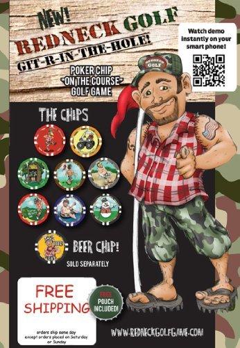 AMA Golf Vegas Golf Games Poker Chip Game (Redneck Golf Edition) by -