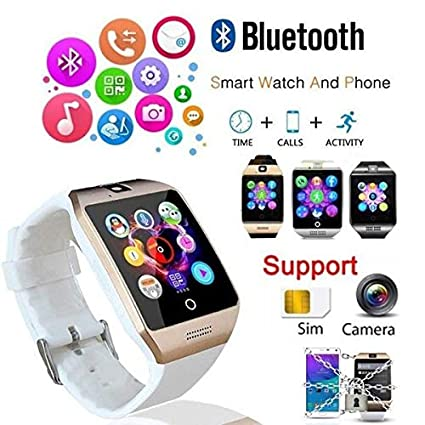 Amazon.com: MTOFAGF Smart Watch Q18S Watch Camera Facebook ...