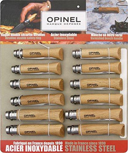 Opinel Twelve Piece Knife Assortment 938
