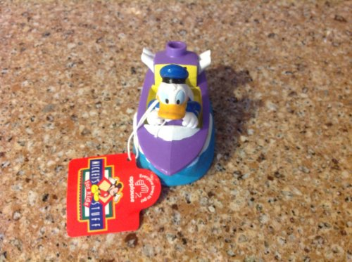 Donald Duck in a Speed Boat Sharpener! Rare Collectible, Not Sold in Stores!
