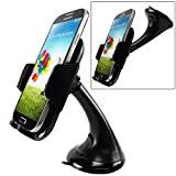 Car Mount Phone Holder Windshield Swivel Cradle Stand Window Glass Dock Suction for Verizon Motorola Moto Z Force Droid - Verizon Motorola Moto Z Play Droid - Verizon Motorola Moto Z2 Play