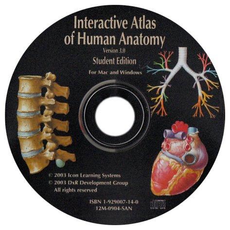 Interactive Atlas Of Human Anatomy 30 Frank Netter 9781929007141