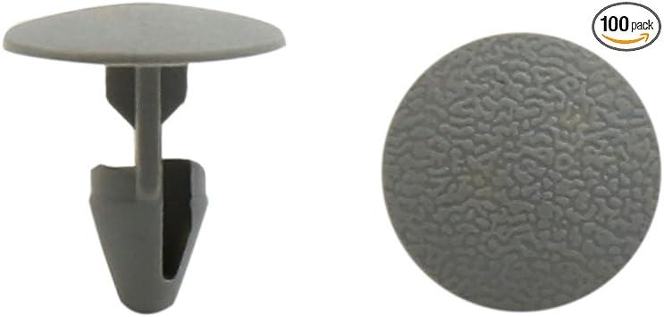 uxcell 80Pcs 8mm Hole Bumper Hood Fender Rivet Clips