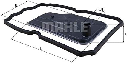 Mahle Knecht Filter Hx124d Hydraulikfilter Automatikgetriebe Auto