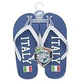 Italy Unisex Slippers Flip Flops Size Extra Large
