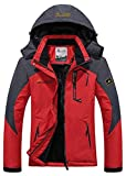 Century Star Womens Winter Comfortable Outdoor Waterproof Hoodie Warm Jackets