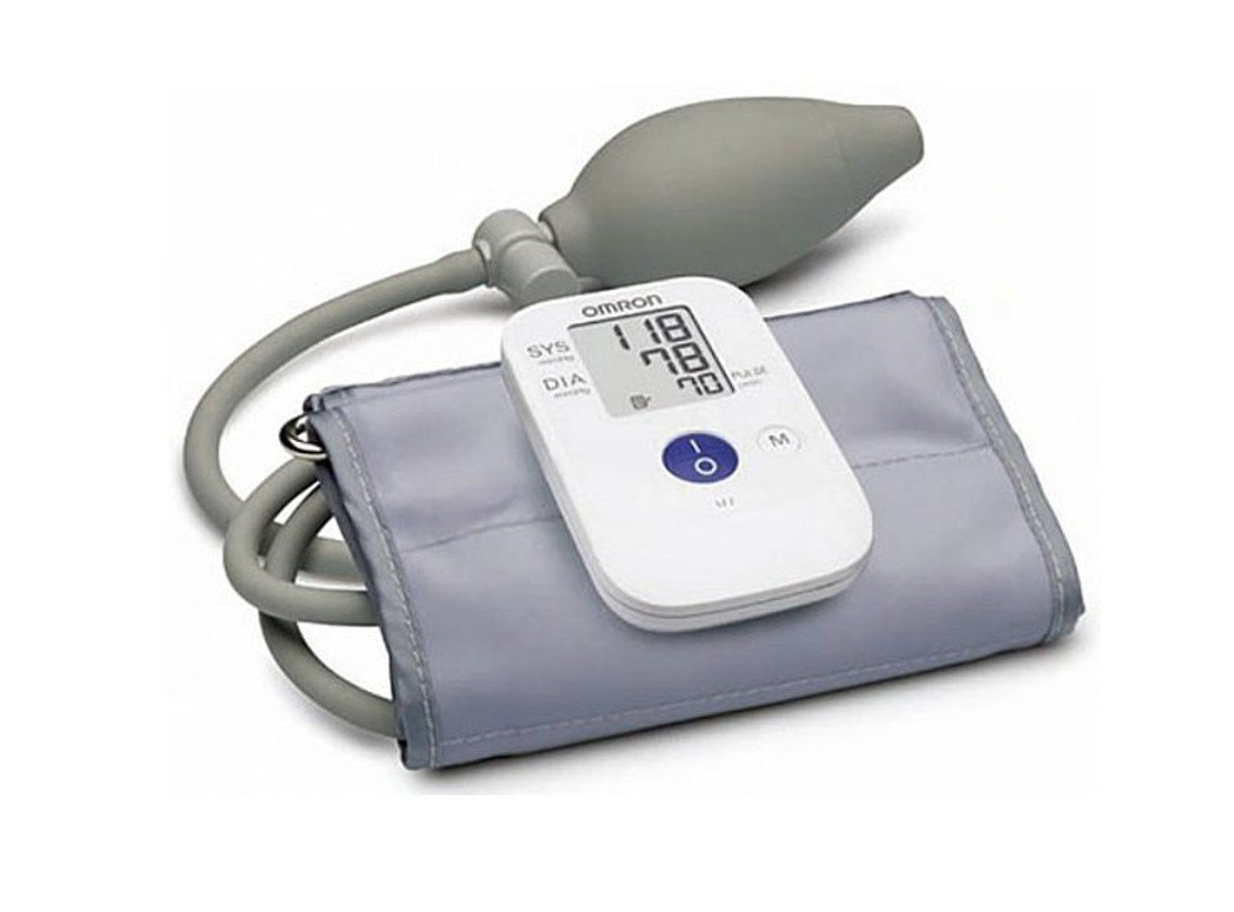 Amazon.com: Omron HEM-4030 Manual Inflation Blood Pressure Monitor: Health & Personal Care