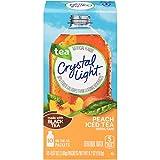 Crystal Light On The Go Peach Iced Tea, 10-Packet Box (Pack of 24)