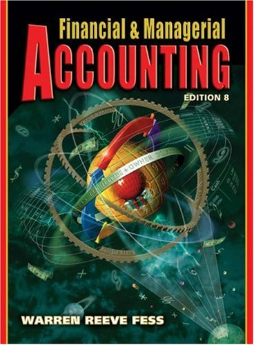 Managerial financial accounting pdf and
