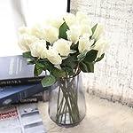 YJYdada-6-Pcs-Pretty-DIY-Artificial-Silk-Fake-Flowers-Rose-Floral-Wedding-Home-Decor