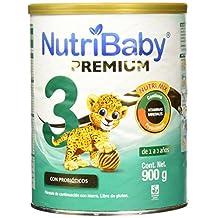 Nutribaby Premium Etapa 3 Formula Infantil en Polvo para 1-3 Años, 900 g