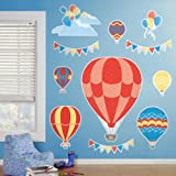 Hot Air Balloon Room Decor - Giant Wall Decals