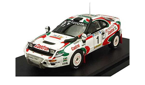 hpi 1/43 Toyota Celica Turbo 4WD 1993 Safari Rally Winner # 1 J. Kankunen new package (japan import): Amazon.es: Juguetes y juegos