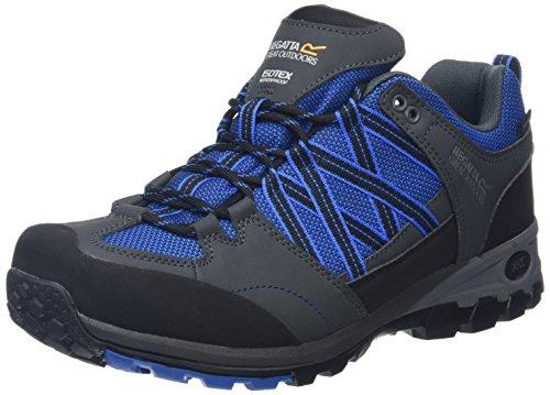 Regatta Herren Samaris Trekking-& Wanderhalbschuhe, 40.5 EU Blau (Oxfdbl/Briar 2Ff)