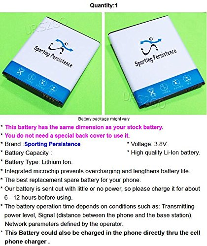 Long Lasting 4000mAh 3.8V Extra Standard Replacement Li-Ion Battery for Samsung Galaxy S3 S III GT-I9300 SCH-S968C Android phone