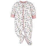 Gerber Baby Girls' 4 Pack Sleep 'N Play