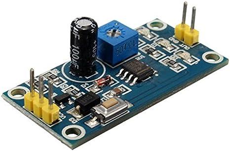 Escudo Relés de retardo de 12V DC NE555 Temporizador Interruptor Módulo 0-10 segunda Ajustable