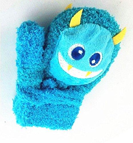 Cartoon Gloves Hands - Killer Bear Mittens,Dealzip Inc Cute Warm Baby Cartoon Thick Colourful Little Monsters Gloves Unisex-baby Infant Mitten