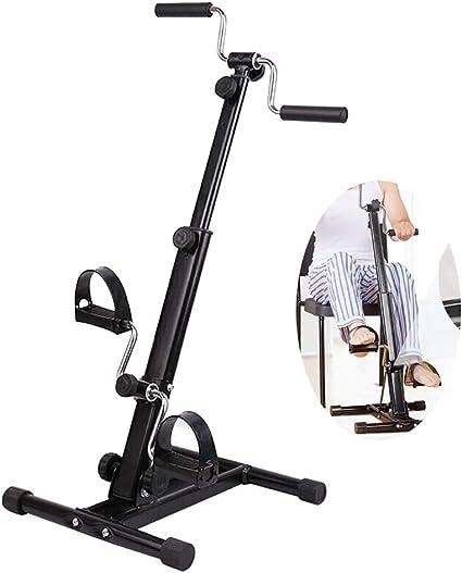 Exercise Bike Arm Leg Resistance Mini Cycle Pedal Exerciser Workout Seat Fitness