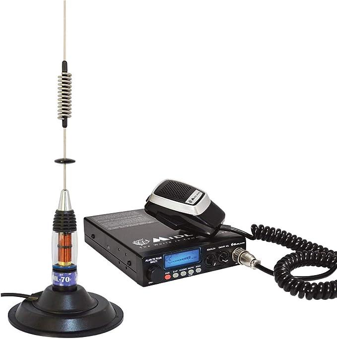 Midland Radio CB Alan 78 Plus Multi B, SQ, Scan, 12V, 4W + ...