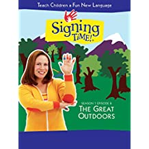 Signing Time Season 1 Episode 8: The Great Outdoors