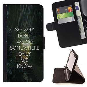 BullDog Case - FOR/HTC One M8 / - / love quote text message valentines gift /- Monedero de cuero de la PU Llevar cubierta de la caja con el ID Credit Card Slots Flip funda de cuer