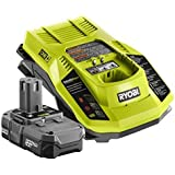 Factory Reconditioned Ryobi ZRP127 18V ONE+ Battery and Charger Kit (ZRP102 and ZRP117) by Ryobi