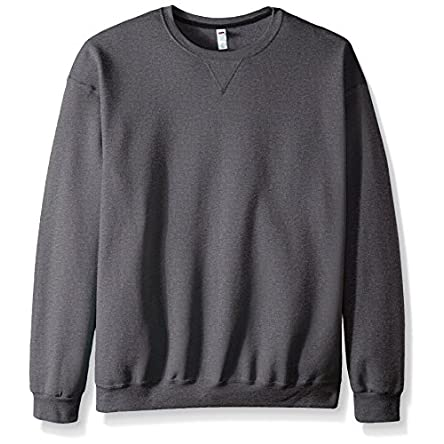 Fruit of the Loom Men's Sofspun Fleece Sweatshirts...