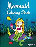 Mermaid Coloring Book: Ages 4-8