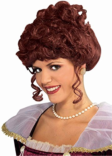 Victorian Lady Wig Adult, One Size, Brown